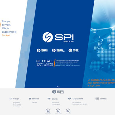 Site Administrable / CMS power.fr : SPI GROUP